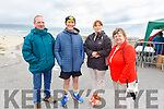 Enjoying the day in Ballyheigue on Sunday at the Slip to Shore swim as part of the Summer Festival..<br /> L to r: Dave Simpson, Dan McCarthy, Caroline Simpson and Ann McCarthy.