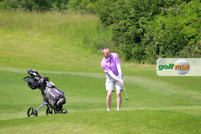 Get Cohen (Beaverstown) on the 1st during Round 1 of the Irish Mid-Amateur Open Championship at New Forest on Saturday 20th June 2015.<br /> Picture:  Thos Caffrey / www.golffile.ie