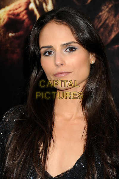 "JORDANA BREWSTER .""A Nightmare On Elm Street"" Los Angeles Premiere held at Grauman's Chinese Theatre, Hollywood, California, USA, 27th April 2010..portrait headshot  black sparkly beaded .CAP/ADM/BP.©Byron Purvis/AdMedia/Capital Pictures."