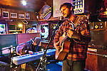 Dan Mangan and Mark Berube playing at Henfling's bar in Ben Lomond, California.  April 24, 2007.