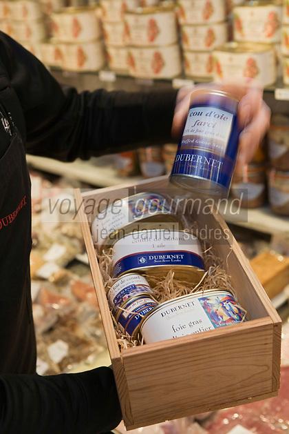 Europe/France/Ile-de-France/75007/Paris: Conserves d'oies et de Canard  chez Dubernet Foie Gras - 2 Rue Augereau