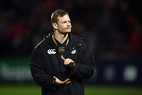 Chris Cook of Bath Rugby acknowledges the travelling support after the match. Heineken Champions Cup match, between Stade Toulousain and Bath Rugby on January 20, 2019 at the Stade Ernest Wallon in Toulouse, France. Photo by: Patrick Khachfe / Onside Images