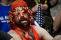 An Occupy Wall Street member attends the Spring training season at Zuccotti park in New York, United States. 23/03/2012.  Photo by Eduardo Munoz Alvarez / VIEWpress.
