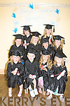 STARLIGHT: Children from Starlight Mountessori Playschool, Leith, Tralee who were presented with their end of the certificates. from marilyn Duffy and assistent Sheila Enright. children Grace Baker, Kealan Lynch, Roisin Raggett, Claudia Crowley, Naoise Shanahan, Clodagh O'Sullivan, Niamh Culloty, valerie Enright, Amy McCarthy and Aideen Duffy..