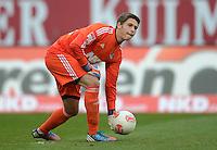 FUSSBALL   1. BUNDESLIGA  SAISON 2012/2013   8. Spieltag 1. FC Nuernberg - FC Augsburg       21.10.2012 Torwart Patrick Rakovsky  (1 FC Nuernberg)