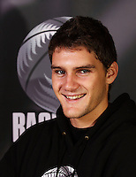 Patrich Bolstad. Junior Tall Blacks photoshoot at Te Rauparaha Arena, Porirua, Wellington, New Zealand on Friday 20 June 2008. Photo: Dave Lintott / lintottphoto.co.nz