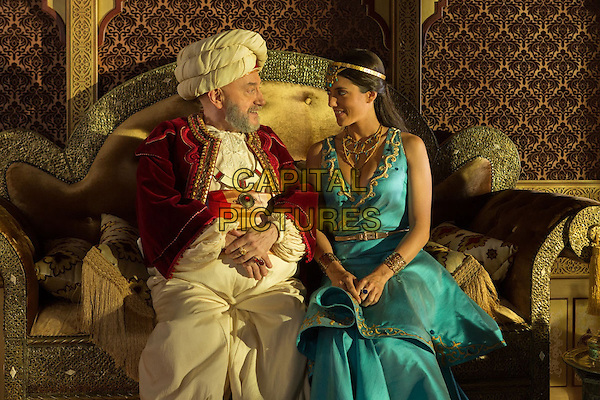 Les nouvelles aventures d'Aladin (2015) <br /> Eric Judor, Vanessa Guide  <br /> *Filmstill - Editorial Use Only*<br /> CAP/KFS<br /> Image supplied by Capital Pictures