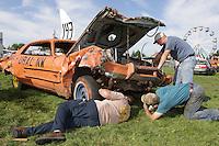 Demolition Derby at the NW Washington Fair. August 17, 2009 PHOTOS BY MERYL SCHENKER            ...         ....schenker IMG_4472.JPG