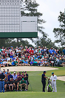 Phil Mickelson (USA) on the 3rd tee during the 2nd round at the The Masters , Augusta National, Augusta, Georgia, USA. 12/04/2019.<br /> Picture Fran Caffrey / Golffile.ie<br /> <br /> All photo usage must carry mandatory copyright credit (© Golffile | Fran Caffrey)
