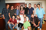 Doug Davidson, Christian LeBlanc, Justin Deas, Heather Tom, Don Diamont, Daniel Goddard, Adam Reist, Brandon Beemer, Front Row: Van Hansis, Michelle Stafford, Kim Zimmer, Robert Newman and Mike Gold at Soapstar Spectacular presented by KDKA-TV stars Y&R, BB, GL and ATWT on June 13, 2010 at the Petersen Events Center, University of Pittsburgh, PA and benefited the Susan G. Komen for the Cure Pittsburgh Affiliate. (Photo by Sue Coflin/Max Photos)