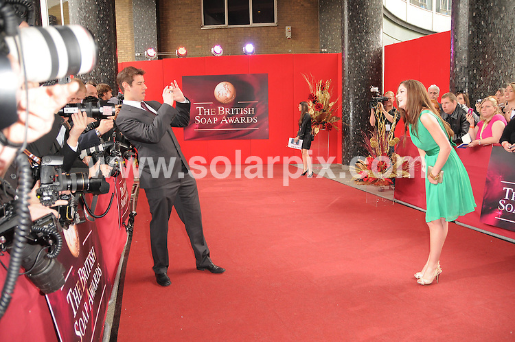 **ALL ROUND PICTURES FROM SOLARPIX.COM**.**WORLDWIDE SYNDICATION RIGHTS**.2009 British Soap Awards at the BBC TV Centre, London...This pic:..JOB REF:8970        MSR    DATE: 09.05.09.**MUST CREDIT SOLARPIX.COM OR DOUBLE FEE WILL BE CHARGED**.**ONLINE USAGE FEE GBP 50.00 PER PICTURE - NOTIFICATION OF USAGE TO PHOTO @ SOLARPIX.COM**.**CALL SOLARPIX : +34 952 811 768 or LOW RATE FROM UK 0844 617 7637**