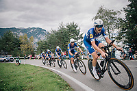 Team Quickstep Floors<br /> <br /> UCI MEN&lsquo;S TEAM TIME TRIAL<br /> Ötztal to Innsbruck: 62.8 km<br /> <br /> UCI 2018 Road World Championships<br /> Innsbruck - Tirol / Austria