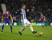 2nd December 2017, The Hawthorns, West Bromwich, England; EPL Premier League football, West Bromwich Albion versus Crystal Palace; Sam Field of West Bromwich Albion passing the ball