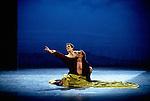 Birmingham Royal Ballet's Edward ll. Kevin O'Hare. David Justin