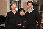 Alan Cumming, Chita Rivera and Andy Karl in Rehearsal for 'Chita: Nowadays'  at Michiko Studio on October 27, 2016 in New York City.
