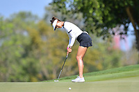 PATTAYA, THAILAND - FEBRUARY 22: Michelle Wie of USA 2nd shot on the 4th green during the second round of the Honda LPGA Thailand 2019 at Siam Country Club Pattaya (Old Course), Pattaya, Thailand on February 22, 2019.<br /> .<br /> .<br /> .<br /> (Photo by: Naratip Golf Srisupab/SEALs Sports Images)<br /> .<br /> Any image use must include a mandatory credit line adjacent to the content which should read: Naratip Golf Srisupab/SEALs Sports Images