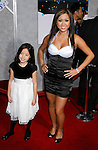"HOLLYWOOD, CA. - December 18: Actress Kathryn Le and daughter Star arrive at the Los Angeles premiere of ""Bedtime Stories"" at the El Capitan Theatre on December 18, 2008 in Hollywood, California."