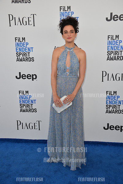 Jenny Slate at the 2017 Film Independent Spirit Awards on the beach in Santa Monica, CA, USA 25 February  2017<br /> Picture: Paul Smith/Featureflash/SilverHub 0208 004 5359 sales@silverhubmedia.com
