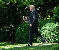 United States President Donald J. Trump departs the White House in Washington, DC, May 14, 2019, headed for political and fundraising events in Louisiana. <br /> CAP/MPI/RS<br /> ©RS/MPI/Capital Pictures