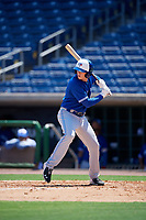 Toronto Blue Jays PK Morris (21) at bat during an Instructional League game against the Philadelphia Phillies on September 17, 2019 at Spectrum Field in Clearwater, Florida.  (Mike Janes/Four Seam Images)