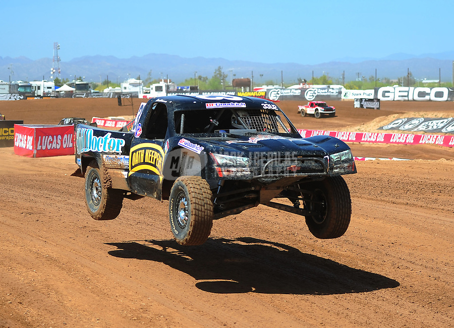 Apr 15, 2011; Surprise, AZ USA; LOORRS driver Dow Woerner during round 3 and 4 at Speedworld Off Road Park. Mandatory Credit: Mark J. Rebilas-.