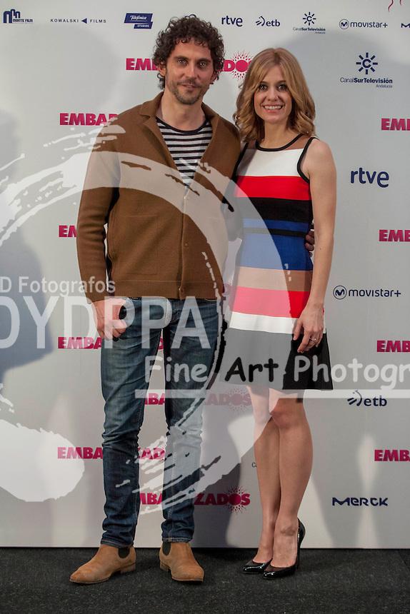 Paco Leon and Alexandra Jimenez attends