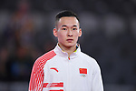 Xiao Ruoteng (CHN), <br /> AUGUST 20, 2018 - Artistic Gymnastics : Men's Individual All-Around Medal Ceremony at JIEX Kemayoran Hall D during the 2018 Jakarta Palembang Asian Games in Jakarta, Indonesia. <br /> (Photo by MATSUO.K/AFLO SPORT)