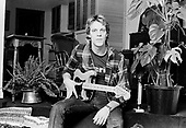 Jan 10, 1980: THE POLICE - Stewart Copeland - Photosession at Home in Shepherds Bush London