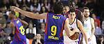 Euroleague el FC Barcelona guanya 83 -82 al Panathinaikos en el primer partit del playoff.Ricky Rubio