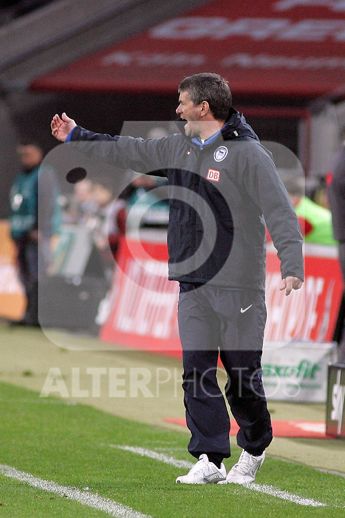 03.04.2010,  Rhein Energie Stadion, Koeln, GER, 1.FBL, FC Koeln vs Hertha BSC Berlin, 29. Spieltag, im Bild: Friedhelm Funkel (Trainer Berlin)  Foto © nph / Mueller..