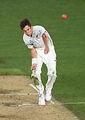 25th March 2018, Auckland, New Zealand;  New Zealand bowler Trent Boult. New Zealand versus England. 1st day-night test match. Eden Park, Auckland, New Zealand. Day 4