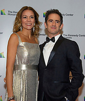 Andy Blankenbuehler and his wife, Elly, arrives for the formal Artist's Dinner honoring the recipients of the 41st Annual Kennedy Center Honors hosted by United States Deputy Secretary of State John J. Sullivan at the US Department of State in Washington, D.C. on Saturday, December 1, 2018.   <br /> CAP/MPI/RS<br /> &copy;RS/MPI/Capital Pictures