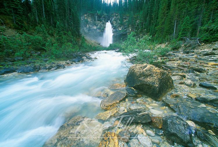 Laughing Falls, Yoho NP, BC, Canada