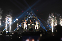 Hatari (Iceland)<br /> Eurovision Song Contest, Rehearsal of the first semi-final, Tel Aviv, Israel - 13 May 2019<br /> **Not for sales in Russia or FSU**<br /> CAP/PER/EN<br /> ©EN/PER/CapitalPictures