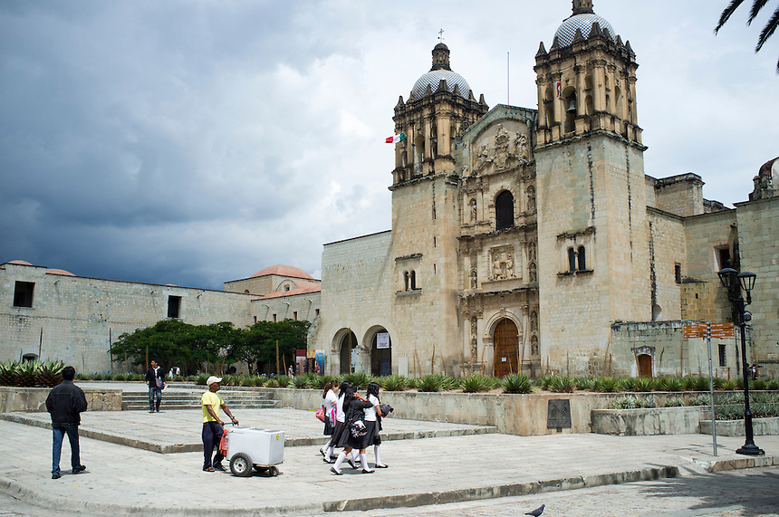 Church of Santo Domingo de Guzmán, Oaxaca, Mexico