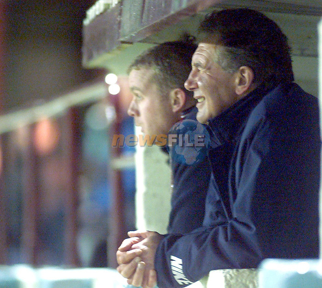 Drogheda United manager Eddie May..Picture Paul Mohan Newsfile