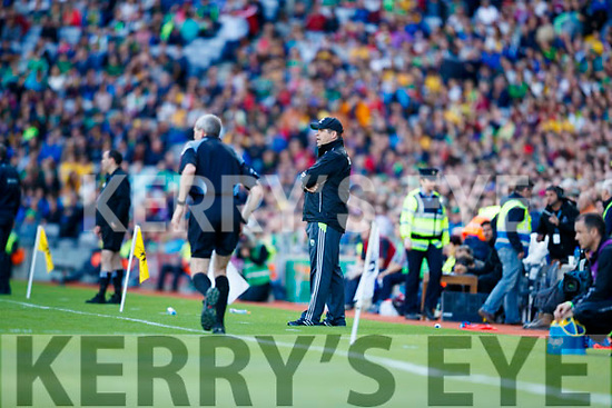 Kerry Manager Eamonn Fitzmaurice Kerry v  Galway in the All Ireland Senior Football Quarter Final at Croke Park on Sunday.