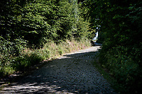 The Rampe cobbles (& climb) in Kluisbergen<br /> <br /> cycling hotspots & impressions in the Vlaamse Ardennen (Flemish Ardennes) <br /> <br /> Cycling In Flanders <br /> Flanders Tourist Board<br /> <br /> ©kramon