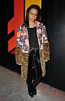 guest at the Fendi Reloaded capsule collection launch party, Lost Rivers, Leake Street, London, England, UK, on Thursday 12 April 2018.<br /> CAP/CAN<br /> &copy;CAN/Capital Pictures