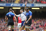 Referee Craig Joubert..RBS 6 Nations 2012.Wales v France.Millennium Stadium.17.03.12..CREDIT: STEVE POPE-SPORTINGWALES
