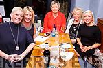 Pictured iin QC's Bar & Restaurant, Cahersiveen on Women's Christmas were Aoife O'Shea, Tara O'Shea, Hazel Sugrue, Kitty King & Grace King.