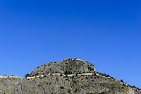 Burgberg von Cefalu, Sizilien, Italien
