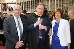 With Compliments,  25/8/2015  Attending the University of Limerick Conferrings were Mike O' Nolan, South Circular Road, James O' Nolan, Corbally, who was conferred with a BA in Journalism and New Media and Naoimi O' Nolan, Corbally.<br /> Pic: Gareth Williams / Press 22