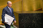 LOS general debate &ndash; 27 September<br /> <br /> PM<br /> <br />  His Excellency Benjamin Netanyahu, Prime Minister, State of Israel