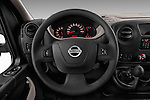 Car pictures of steering wheel view of a 2016 Nissan NV400 Acenta 4 Door Cargo Van Steering Wheel