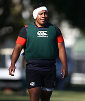 Mako Vunipola (Saracens) during the England Rugby training session at  Jonsson Kings Park Stadium,Durban.South Africa. 05,06,2018 Photo by (Steve Haag)