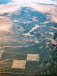 Eastern Nevada, Lincoln County, USA Fly-over County-from the window seat of Southwest #1882 from SMF to DAL, September 2016