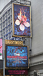 """Theatre Marquee for Opening Night performance of """"The Inheritance"""" at the Barrymore Theatre on November 17, 2019 in New York City."""