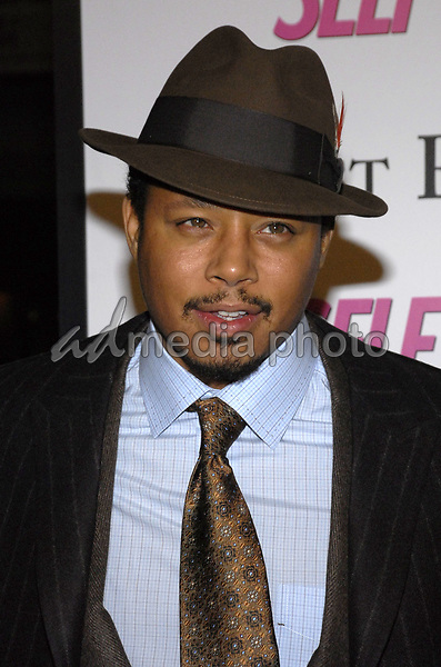 """11 November 2007 - New York, New York - Terrence Howard. The New York premiere of Warne Bros. Pictures' """"August Rush"""" held at  the Ziegfeld Theater.  Photo Credit: Bill Lyons/AdMedia *** Local Caption ***"""