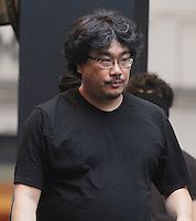 NEW YORK, NY-July 17:  Bong Joon-Ho, shooting on location for Netflix & Plan B Enterainment  film Okja in New York. NY July 17, 2016. Credit:RW/MediaPunch